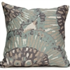Cross Section Pillow - Gray