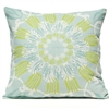 Scroll Suzani Pillow - Silverberry