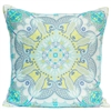 Scarf Print Pillow - Sea