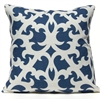 Open Trellis Pillow - Navy