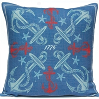 Anchor 2 Pillow - Americana