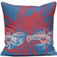 Lobster Pillow - Americana