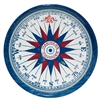 Outdoor Serving Tray - Mariner's Compass Americana