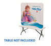 6' Curve Tension Fabric Display - 2 DAY SHIP