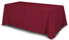 Solid Color Table Throws (Assorted Colors) - 2 DAY SHIP