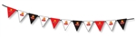 CUSTOM PVC TRIANGLE BUNTING FLAG STRING