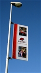 FLEX LIGHT POLE BANNER HARDWARE ONLY