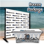 Breeze Package - Back Wall + Table Cover