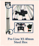 PRO LINE XS 40mm Aluminum Hex Leg (5ft X 5ft)- FRAME ONLY