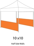 1/2 Side Wall for Pop-up Tent