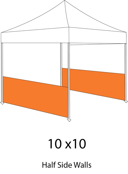 Alternative Views  sc 1 st  Sign Pipers & 2 Side Wall for Pop-up Tent