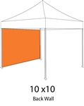 Full Popup Tent Back Wall or Side Wall