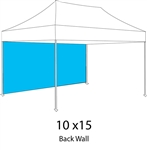 Full Back Wall for 10x15 Pop-up Tent