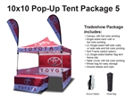 10 X 10 Pop Up Tent Package 5