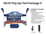 10 X 15 Pop Up Tent Package 5