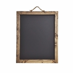 "48""x24"" RUSTIC WOOD CHALKBOARD SIGN"
