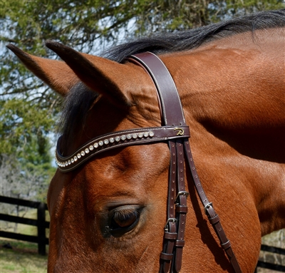 Dy'on V shaped browband