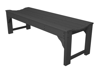 "Traditional Garden 60"" Backless Bench"