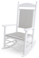 Jefferson Woven Rocker (White Loom)