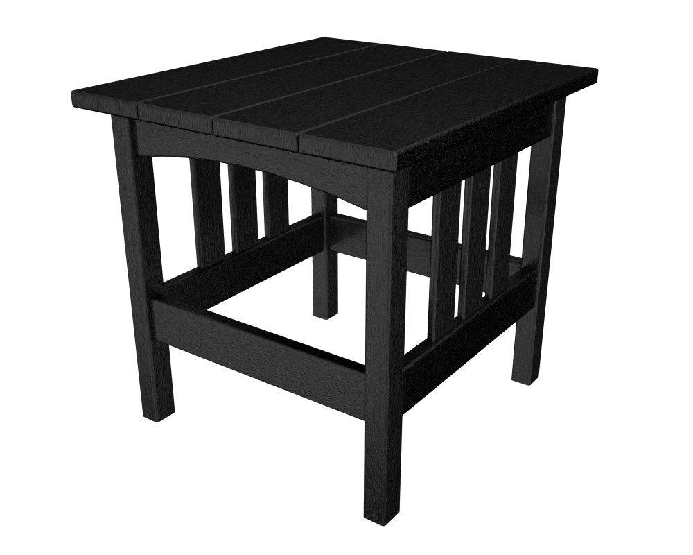 24 X 24 Coffee Table.Mission 22 X 24 Side Table