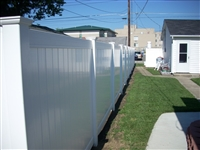 Vinyl Kingston Fence