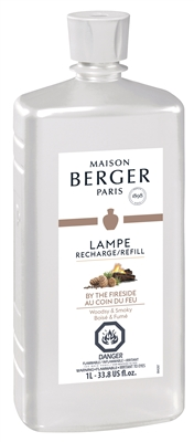 BY THE FIRESIDE Lampe Berger Fragrance Oil - 1Liter / 33.8oz