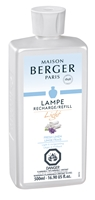 "FRESH LINEN ""Light"" Lampe Berger Fragrance Oil - 500ml 16.9oz"