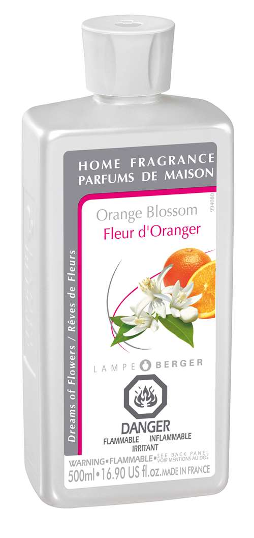 orange blossom 500ml fragrance oil by lampe berger. Black Bedroom Furniture Sets. Home Design Ideas