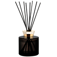 Bouquet Diffuser Delicate White Musk in Black Crystal