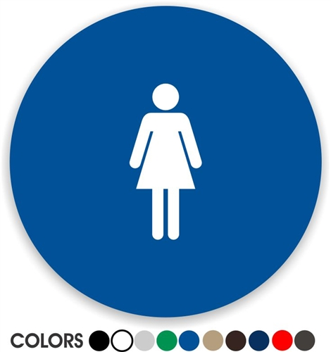 Download Women's Bathroom Sign stock image. Image of female, sign - 12906125