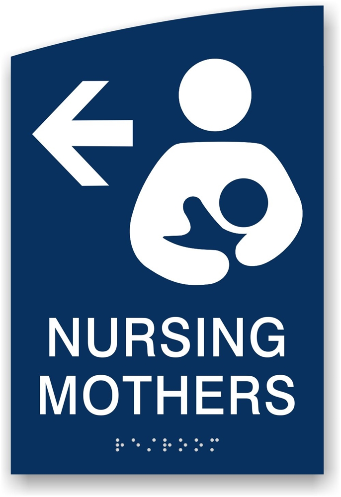 Mother S Room Sign Lactation Room Signage Just Braille