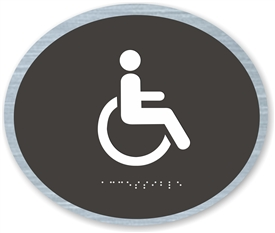 Handicap Accessible braille ADA Sign