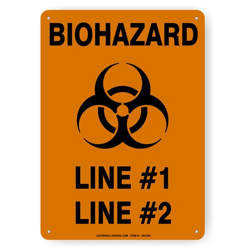 Biohazard Safety Sign