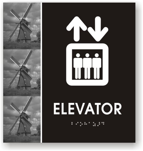 ada elevator signage elevator pictogram sign just braille signs