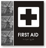 First Aid Braille Sign