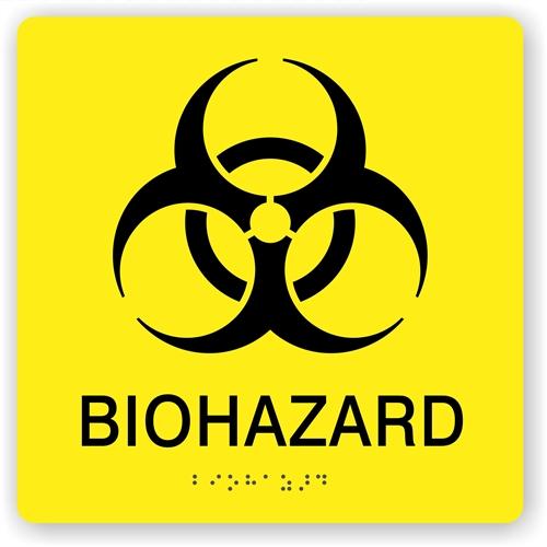 bio hazard safety warning sign biohazard waste sign