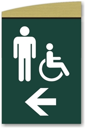 Men's Directional Sign