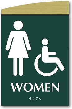 Women's Braille Sign