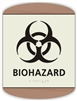Braille Biohazard Sign