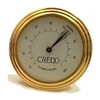 Credo Analog Cigar Hygrometer Gold 55mm
