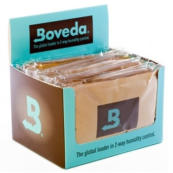 Boveda 75% - 12 Pack Cube, 60 gram Packets