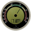 Caliber 4R Hygrometer / Thermometer, SIlver