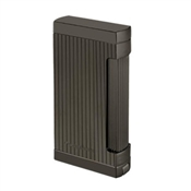 Prometheus Ultimo X6G Lighter, Gunmetal Vertical Lines