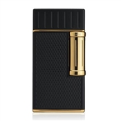 Colibri Julius Lighter, Black & Gold