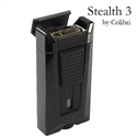 Colibri Stealth 3 Lighter, Black