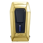 Colibri Quantum Lighter Gold Triple-jet Flame Built-in V-Cut
