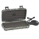 Cigar Caddy Camouflage Humidor 3400, 5 Cigar