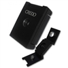 "Credo ""3-in-1"" Cigar Punch Cutter (Black - Square)"