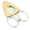 Credo Synchro Cigar Cutter - Birdseye Maple