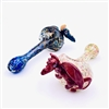 PST 3-HOLE FRIT SPOON WITH DRAGON